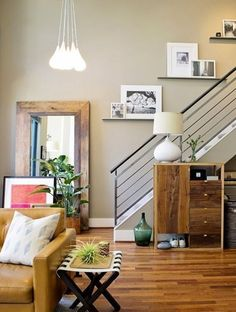 The BIG List: Our Favorite Black Friday & Cyber Monday Deals — 2014 (Apartment Therapy Main) Lofts, Living Room Decor, Living Spaces, Picture Shelves, Stairways, Decoration, Home And Living, Interior Inspiration, Beautiful Homes