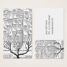 Haeckels Tree of Life profile card