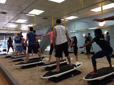 Sandbox Fitness Surfset class underway!