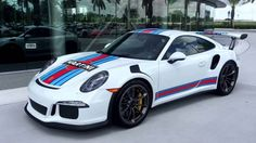 Porsche 911 GT3 RS Martini livery edition