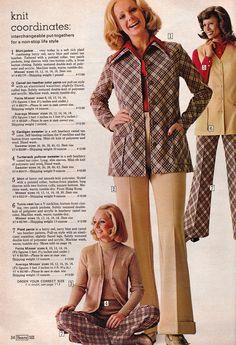 Catálogos # 37: Sears 1974 Moda feminina | Retrospace