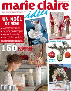 Suspensions sapin de Noël anneau de rideau - Marie Claire Idées