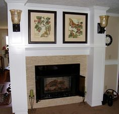 Transformations by Design: Fireplace Remodel