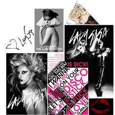 """Lady Gaga"" by oneposter on Polyvore"