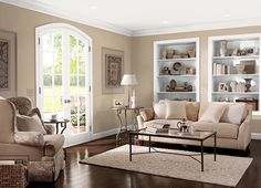 This is the project I created on Behr.com. I used these colors: MODERN HISTORY(MQ2-28),BRITISH KHAKI(MQ2-25),INSTANT CLASSIC(MQ1-34),CAMEO WHITE(MQ3-32),