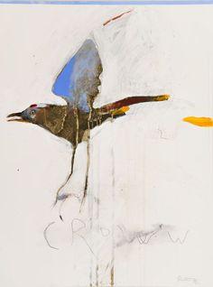 mountainhousestudios:Rick Bartow - Crow Talk