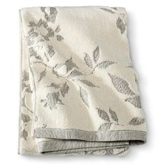 Threshold™ Textured Floral Bath Towels - HOT COFFEE