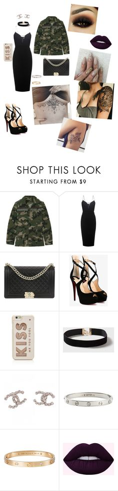 """Untitled #6"" by sehir ❤ liked on Polyvore featuring Valentino, Victoria Beckham, Chanel, Christian Louboutin, Kate Spade, Dorothy Perkins and Cartier"