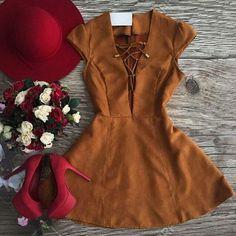 Couro sintético camurça vestido sexy mulheres V pescoço da luva do tampão a-line feminino vestido de Cowboy vestido de festa curto mulher roupas