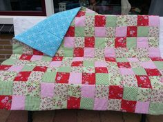 Quilt made for my dear mom