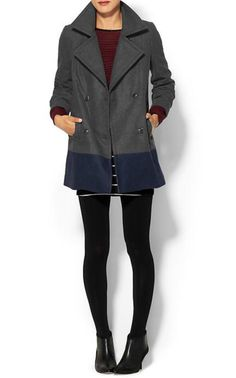 cambridge wool coat.  Love this entire outfit for fall.