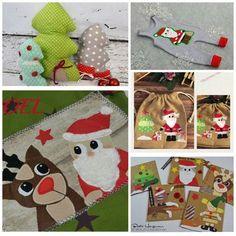 """Applikationsvorlage - """"Weihnachtsmann"""" - Nikolaus - Santa Claus - Kinder - Applizieren - Applikation - TiLu Design"""