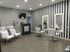 Tienda Estilo moderno Color blanco, gris, negro diseñado por COVIPAR   Arquitecto Técnico   Copyright coordinació i viabilitat