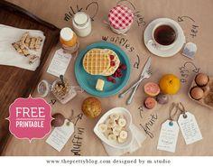 Breakfast in Bed {DIY}
