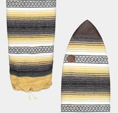 Upcycled Hand Woven Surfboard Bag or Sock by FreeTradingCo