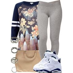 A fashion look from April 2014 featuring River Island t-shirts and Forever 21 leggings. Browse and shop related looks.