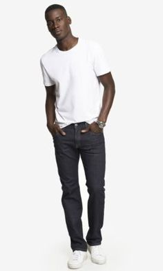 ROCCO SLIM FIT STRAIGHT LEG JEAN from EXPRESS