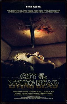 CITY OF THE LIVING DEAD Gates of Hell alternative poster art