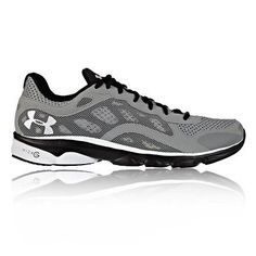 Under Armour Mens Micro G Ignite Grey Cushioned Running Trainers Pump Shoes New