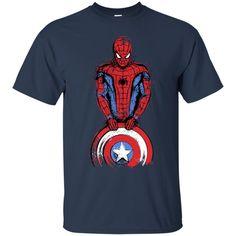 Spiderman American Captain T shirts Hoodies Sweatshirts
