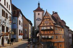 Am Plönlein in Rothenburg