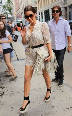 Kim Kardashian Giuseppe Zanotti Wedge Heels - Those wedges are killing me!