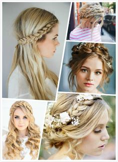 Is a braided crown hairstyle a look you want to try? Lets see the tutorials below, you will be able to do your own crown hairstyle in no time.