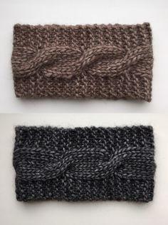Alpaca headband Cable headband Knit headband Women Classic headband Winter headband Wool headband