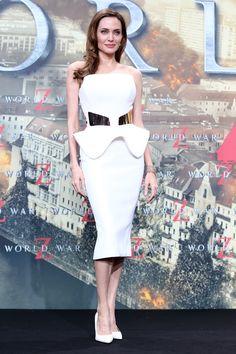 Angelina Jolie at the 'World War Z' Berlin Premiere | Bustle