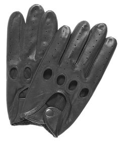 Pratt and Hart Traditional Leather Driving Gloves Size M Color Black Pratt  and Hart http  51fe49a8b36