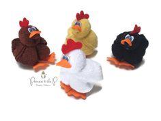 Baby Washcloth Chicken Farm Baby Shower di PrincessAndThePbaby
