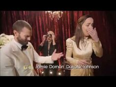 Jamie Dornan, Dakota Johnson - Oscars Backstage (Live with Kelly) - YouTube