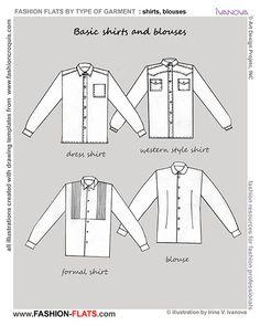 basic shirts and blouse