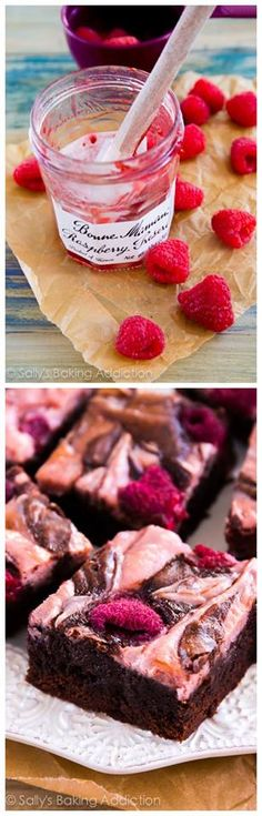 Raspberry Cheesecake Brownies Recipe