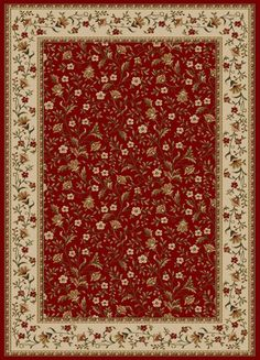 Radici Bellissima 1593 Red Rug