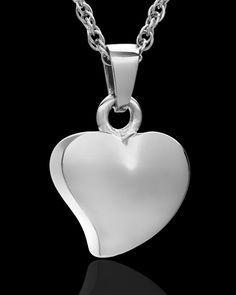 Jewelry Urn Silver Mighty Heart Keepsake $79.99
