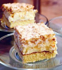 Pinacolada Baking Recipes, Cookie Recipes, Dessert Recipes, Tapas, 7 Up Cake, Polish Desserts, Sandwich Cake, Pastry Cake, Ice Cream Recipes