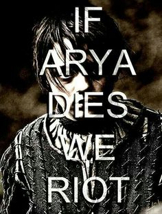 Game of Thrones- Arya