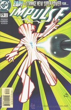 IMPULSE #75, DC COMICS, 2.001, USA