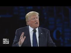Donald Trump Speaks at AIPAC 2016. VERY PRESIDENTIAL
