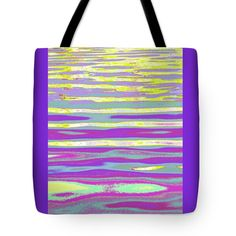 """Ripples and Reflection Four Tote Bag 18"""" x 18"""""""