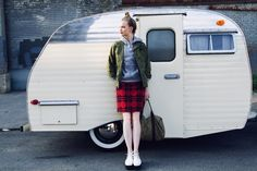 Mini camper (available for rent!) from Goodness Travels could be the perfect vessel for your fall leaf-peeping plans.