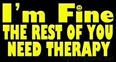 need therapy?