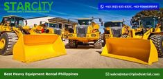 Heavy Equipment Rental, Tractors, Construction, Vehicles, Easy, Building, Car, Vehicle, Tools