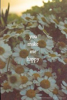 you make me happy.