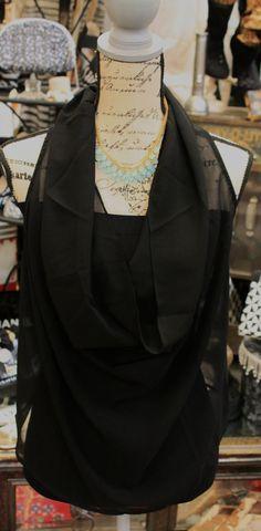 Black sleeveless top $22.95