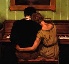 New Music Arte Painting Songs 58 Ideas Couple Drawings, Art Drawings, Joseph Lorusso, Piano Lessons For Beginners, Art Ancien, Romance Art, Classical Art, Renaissance Art, Pretty Art