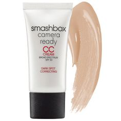 Smashbox Camera Ready CC Cream Broad Spectrum SPF 30 Dark Spot Correcting in Light/Neutral #sephora