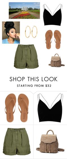 """Curtiba"" by tumblr-my ❤ liked on Polyvore featuring Tkees, River Island and Topshop"