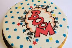 Gâteau geek pour fan de bande dessinée •  Boutique atelier 7 rue Liancourt – Paris 14ème – 01 40 47 03 51 • ouvert du mardi au samedi de 10 heures à 19 heures